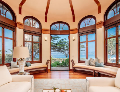 Striking Oceanfront Property in Carmel