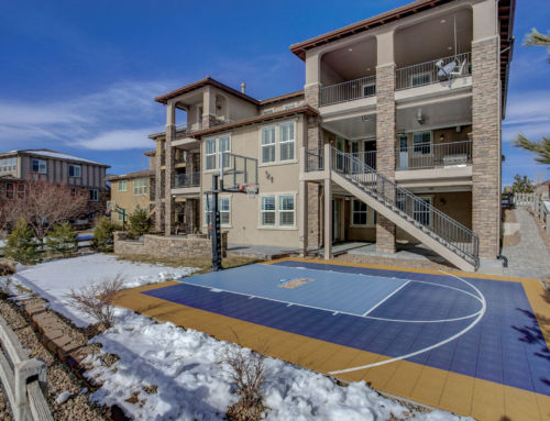 Hoop It Up at Home: Basketball Court Designs