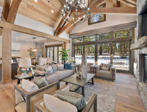New Designer Tahoe-Style Retreat on Gray's Crossing Golf Course